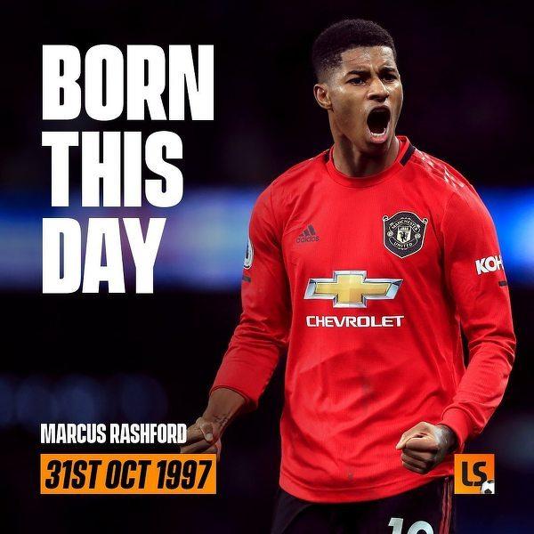 Marcus Rashford kończy dzisiaj 23 lata