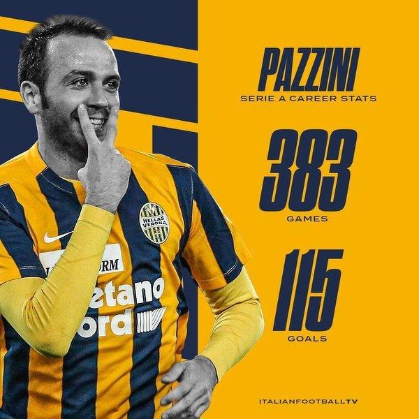 Pazzini właśnie ogłosił przejście na emeryturę na Instagramie