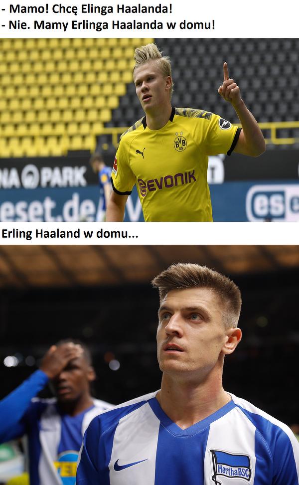 Erling Haaland vs. Krzysztof Piątek