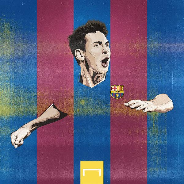 6 lat temu Messi został najlepszym strzelcem w historii La Liga