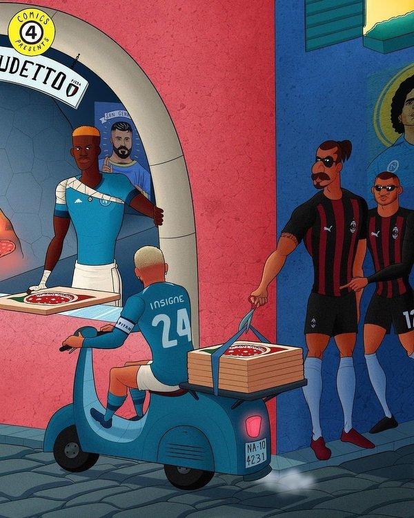 Czy Zlatan i spółka zabiorą dzisiaj punkty Napoli?