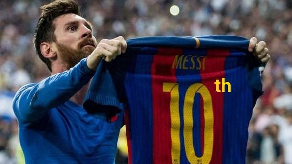Hej Messi, jaka jest pozycja Barcelony w ligowej tabeli?