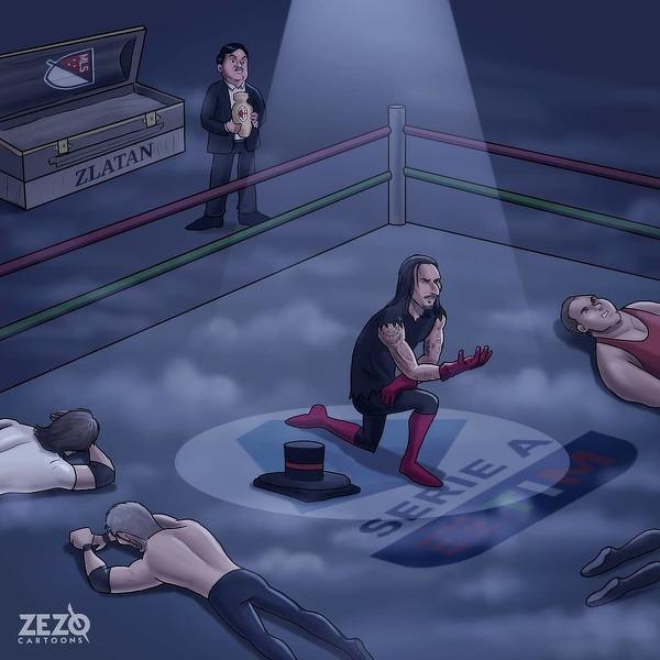 Zlatan niezniszczalny jak Undertaker