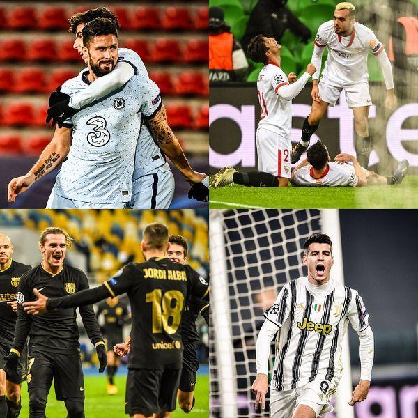 Chelsea, Sevilla, Barcelona i Juventus w kolejnej rundzie Ligi Mistrzów