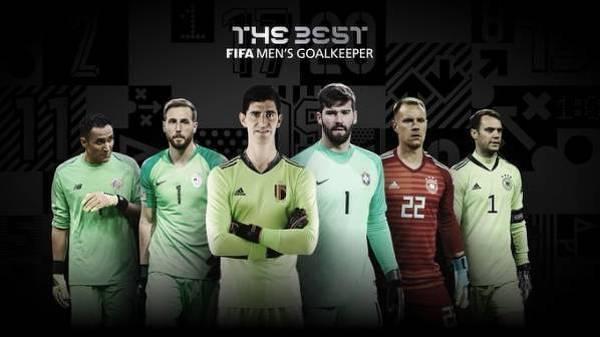 Kto zostanie najlepszym bramkarzem FIFA?