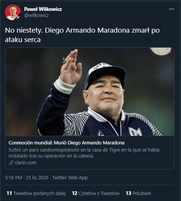 Diego odszedł
