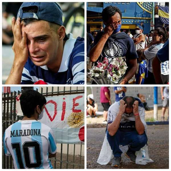 Ludzie na ulicach Argentyny... Te obrazki mówią wszystko