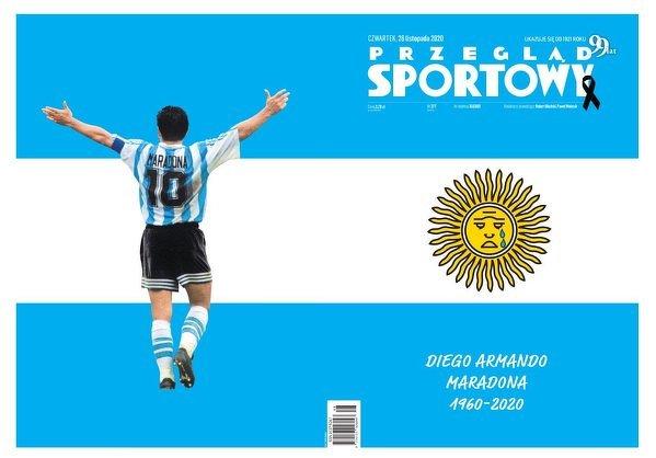 Dzisiejsza okładka Przeglądu Sportowego
