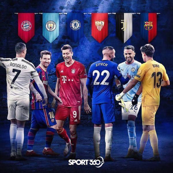 Gwiazdy w kolejnej rundzie Ligi Mistrzów