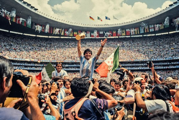 Estadio Azteca, Meksyk, 1986