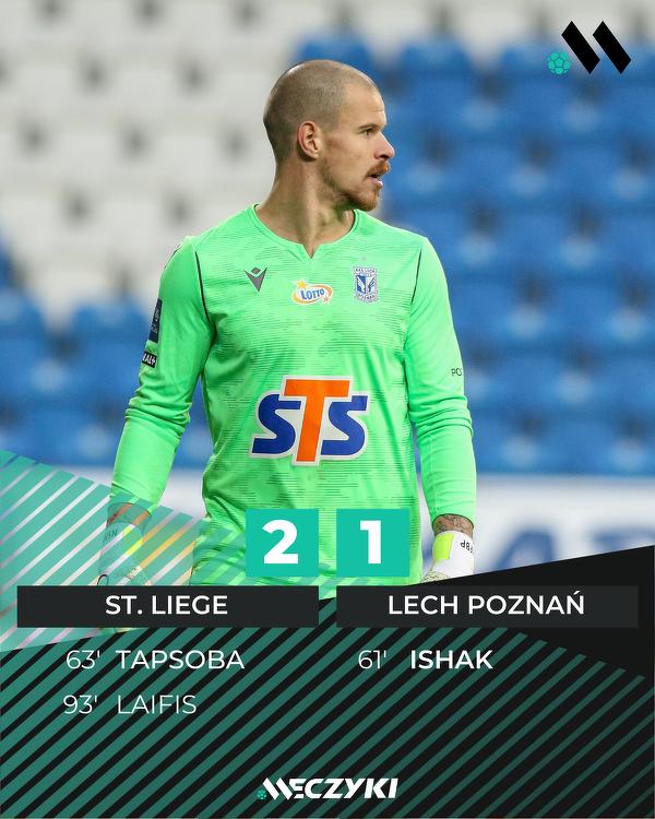 Koszmar Lecha z ekstraklasowych boisk powrócił i Kolejorz traci punkt w ostatnich minutach meczu...