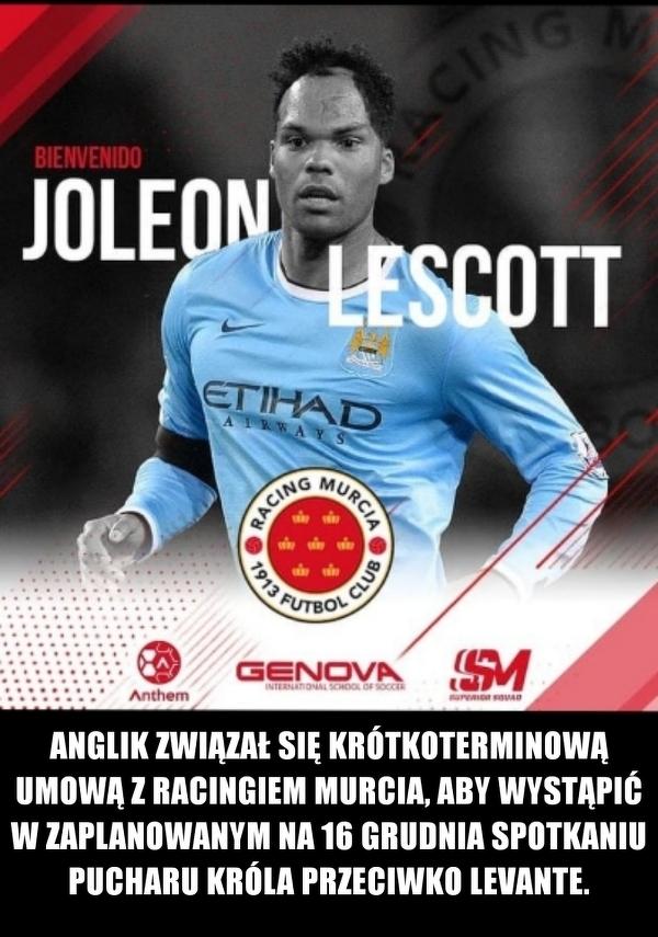 Joleon Lescott wznawia karierę