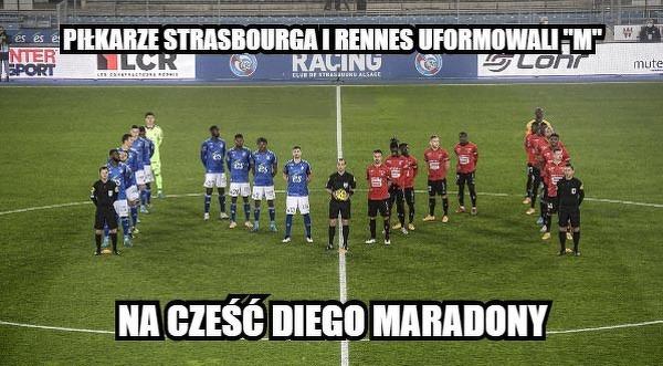 W Ligue 1 pamiętają o Maradonie