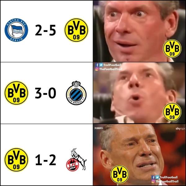 Kibice BVB liczyli pewnie na kolejne zwycięstwo
