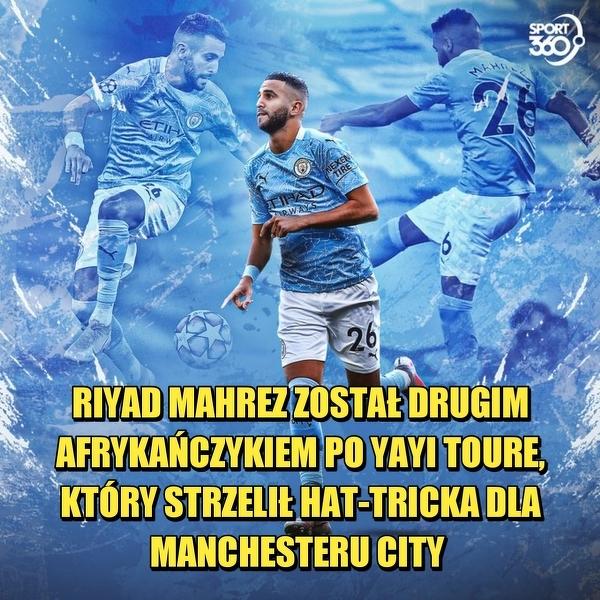 Kolejny piłkarz z Afryki z hat-trickiem dla Man City