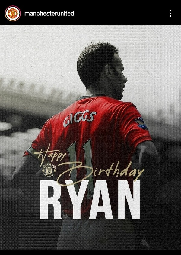 Legenda United Ryan Giggs obchodzi dzisiaj 47 urodziny