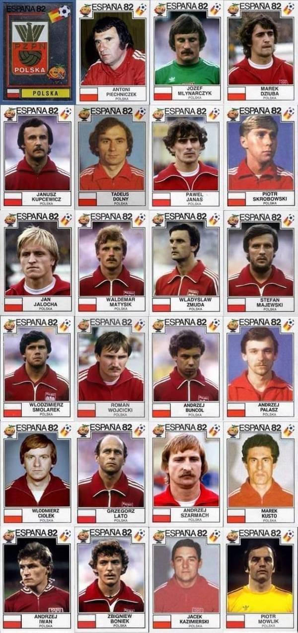 Reprezentacja Polski na mundialu w 1982 roku