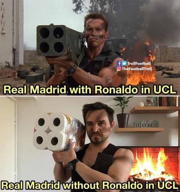 Brakuje im trochę Ronaldo