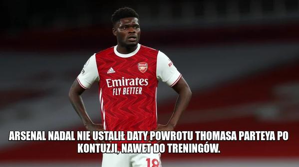 Złe informacje dla fanów Arsenalu