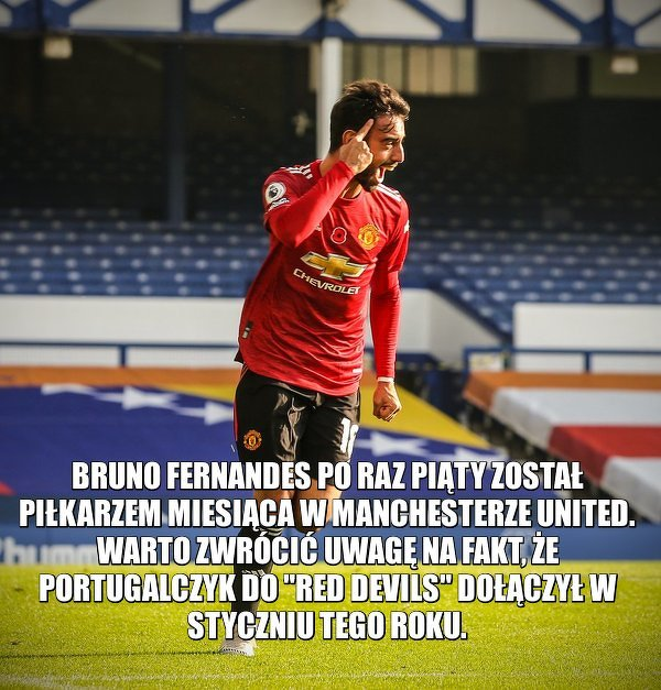Bruno robi różnicę w Man Utd