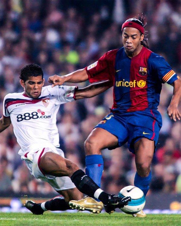 Pewnego razu w meczu Sevilli z Barceloną