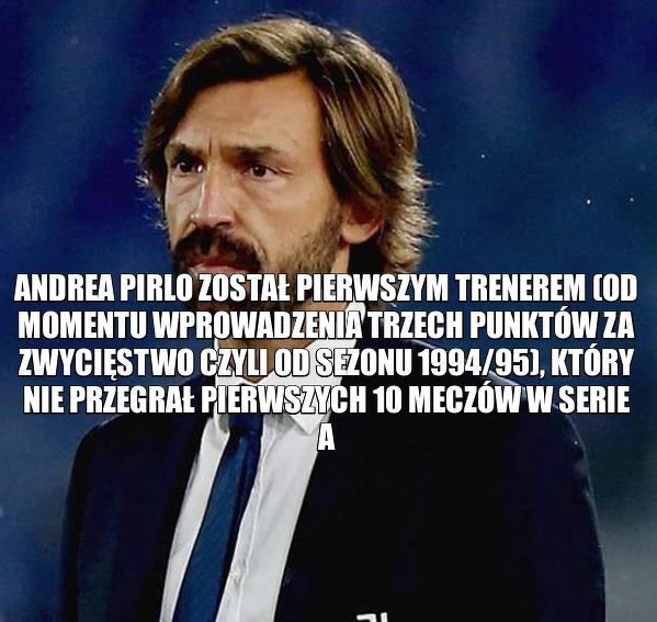 Całkiem niezły start Andrei Pirlo w Serie A