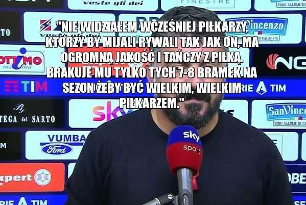 Gattuso o Zielińskim