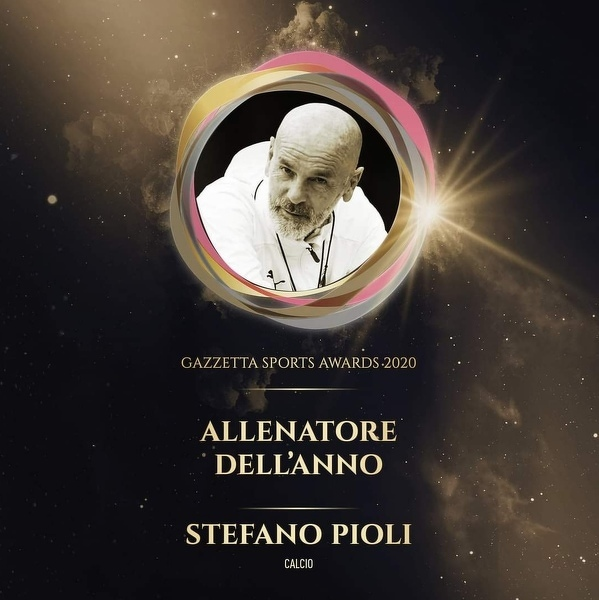 Stefano Pioli trenerem roku 2020