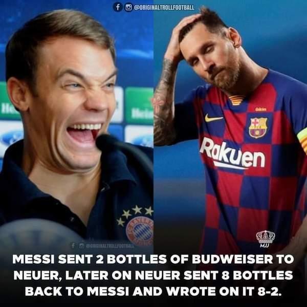 Messi wyjasniony przez Neuera