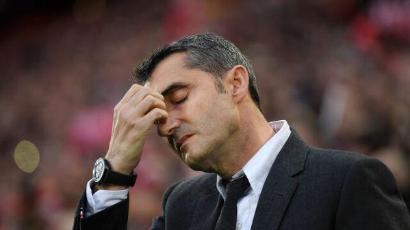 Dokładnie rok temu Barcelona zwolniła Ernesto Valverde