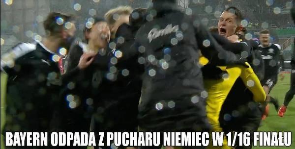 Bayern poza Pucharem Niemiec!