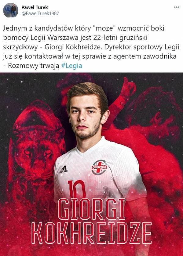 Gruziński talent zawita do Legii?