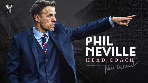 Phil Neville nowym trenerem Interu Miami