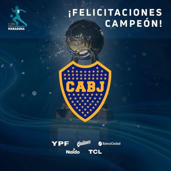 Boca Juniors zwycięzcą pierwszej edycji Pucharu Diego Maradony