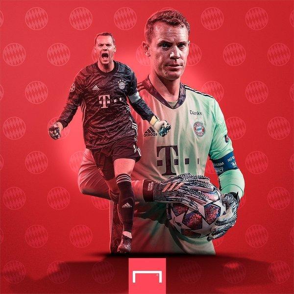 Manuel Neuer zachował wczoraj 196. czyste konto w Bundeslidze
