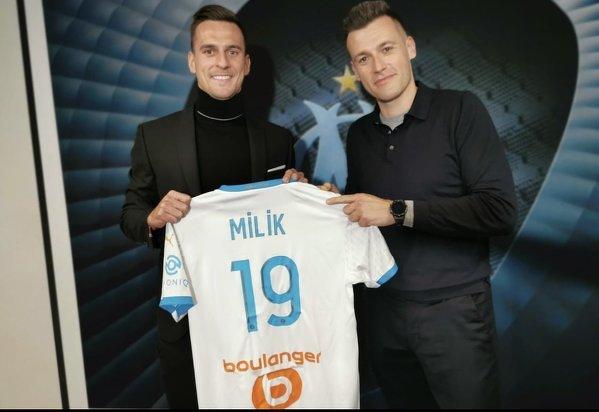 Oficjalnie: Arkadiusz Milik w Olympique Marsylia