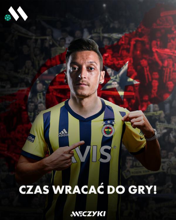 OFICJALNIE! Mesut Özil piłkarzem Fenerbahçe SK ?