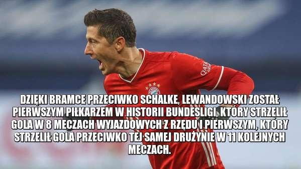 Kolejne rekordy Lewandowskiego!