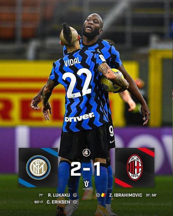 Christian Eriksen zapewnia Interowi awans zwycięstwo i awans do połfinału Pucharu Włoch!