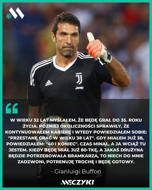 Dzisiaj 43. urodziny obchodzi Gianluigi Buffon. Wszystkiego Najlepszego! 🇮🇹