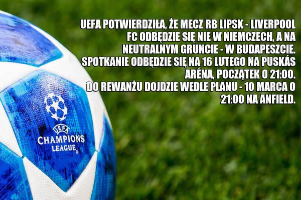 RB Lipsk - Liverpool FC na neutralnym terenie [OFICJALNIE]