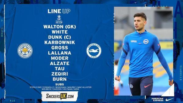 Jakub Moder i Michał Karbownik zadebiutują dziś w barwach Brighton przeciwko Leicester w pucharze FA!
