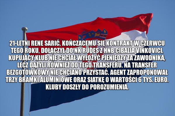 Nietypowy transfer w Chorwacji