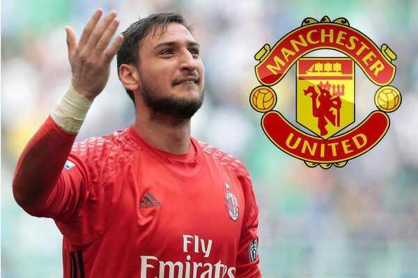Manchester United rozważa ściągnięcie bramkarza Milanu, Gianluigiego Donnarummy