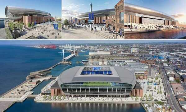 Everton rozpocznie budowę nowego stadionu w dokach miasta. Stadion ma pomieścić 52 tys. widzów