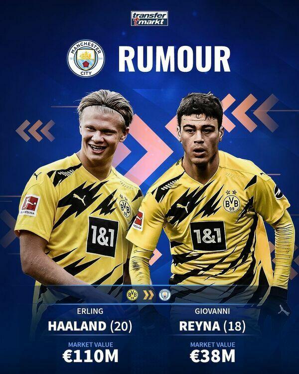 Manchester City w grze o duet z Dortmundu