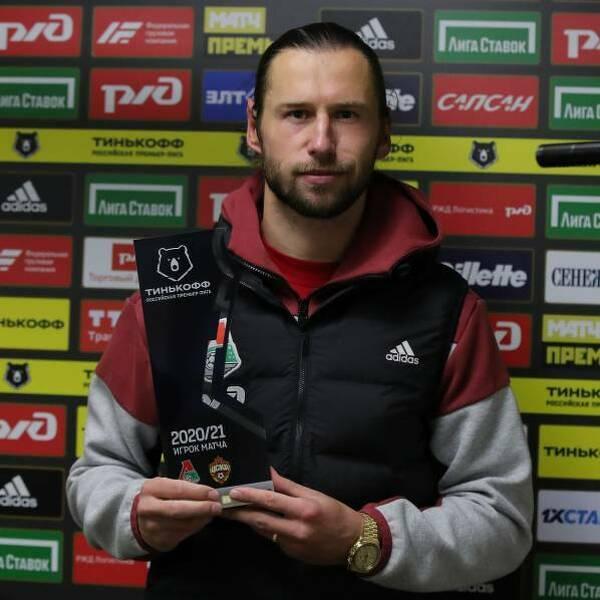 Krychowiak wybrany najlepszym piłkarzem meczu z CSKA