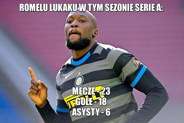 Lukaku poprowadzi Inter po mistrzostwo?