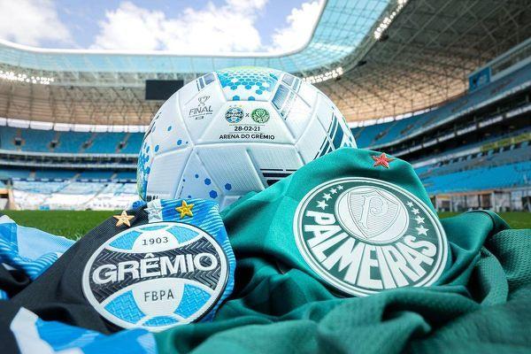 Dziś finał Pucharu Brazylii Gremio - Palmeiras