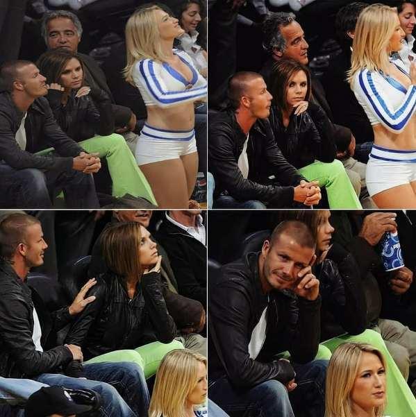David Beckham podjął to ryzyko, niestety, został przyłapany na gorącym uczynku...